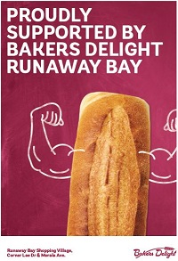 Bakers Delight Runaway Bay Logo